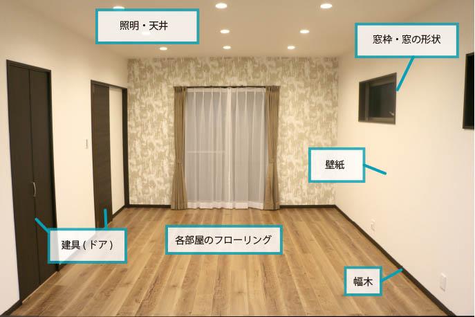 【家造りコラム】色決め内装編①~色決めの基本~